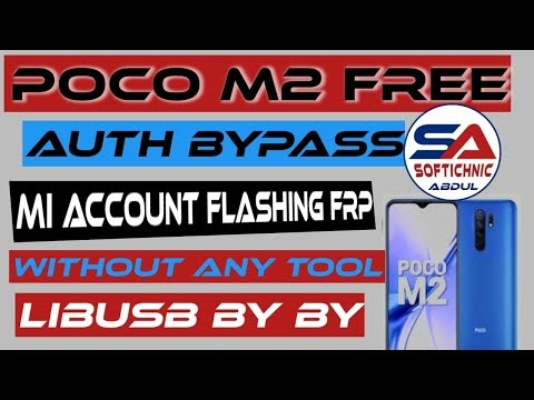 Poco_m2_(shiva) mi account free file | Poco_M2 mi account frp unlock by softichnic