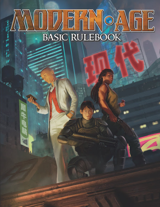 Modern AGE Basic Rulebook (PDF) - Green Ronin Online Store