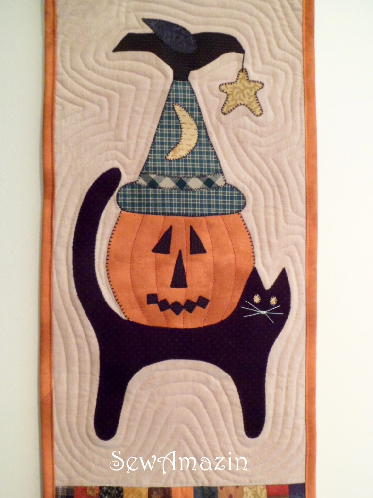 Trick or Treat Backdoor Quilt