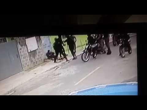 EN VIDEO: Detenidos dos supuestos atracadores en Buenos Aires de Herrera cuando huían de la Policía