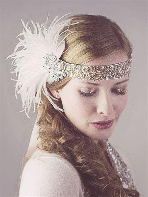 flapper headband ideas  pinterest flapper