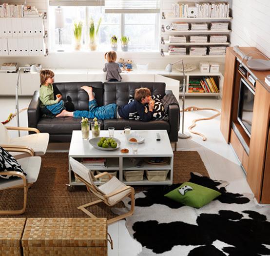 IKEA Living Room Design Ideas 2011   DigsDigs