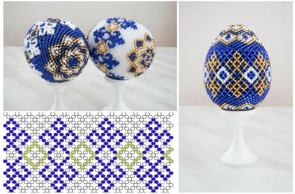 Uova di Pasqua da perline
