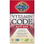Garden of Life Vitamin Code Healthy Blood 60 Vegan Capsules