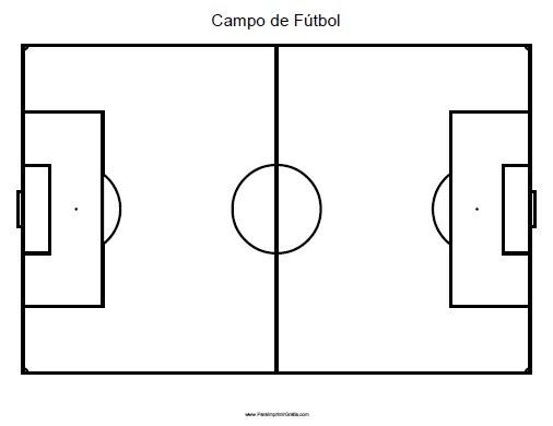 Campo De Futbol Para Imprimir Gratis Paraimprimirgratis Com