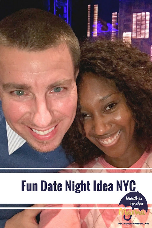 On Your Feet! Fun Date Night Idea NYC | Weather Anchor Mama