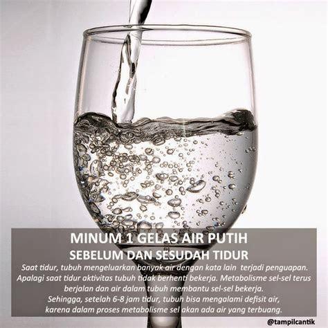 renungan harian kita  gelas air putih sebelum