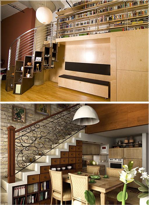 Ide Desain Bawah Tangga Design Interior  Di Bawah Tangga