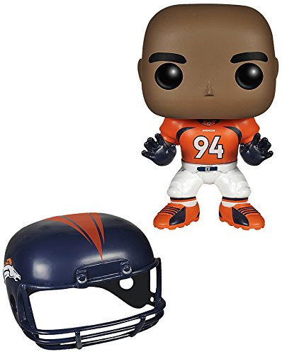 Funko POP NFL: Wave 1  Demarcus Ware Action Figures 849803045371  ToolFanatic.com