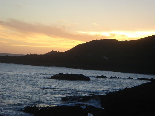 Sunset at NanWan in Kenting