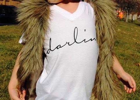 Darling short sleeve t-shirt