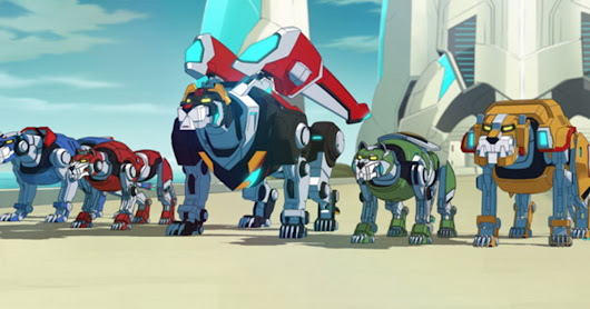 Watch A New Voltron Netflix Trailer