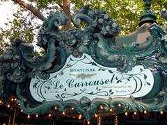 Bryant Park Carousel! 5