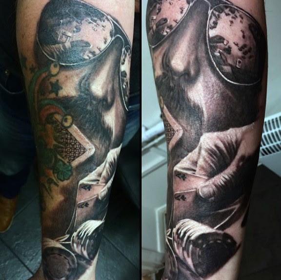 Gambling Themed Half Sleeve Tattoos Livermore Casino Yelp