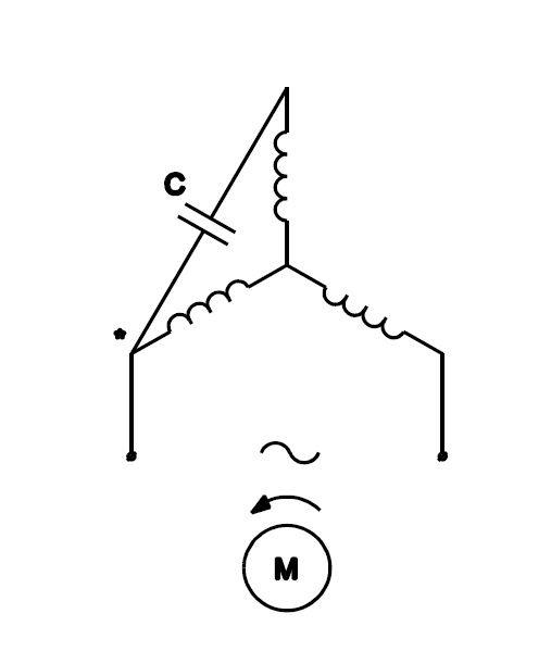 3 Phase 2 Speed Motor Wiring Diagram