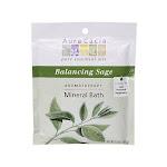 Aura Cacia Mineral Bath Balancing Sage - 2.5 oz Bath Salt