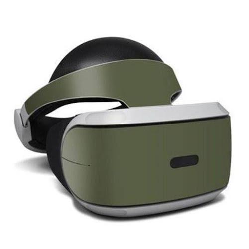 DecalGirl Psvr-Ss-Olv Sony PlayStation VR Skin - Solid State Olive Dr