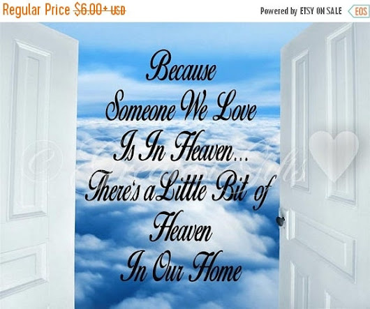SAVE-A-LOT Sale Memorial  Because Someone by InspiredEleganceDLS