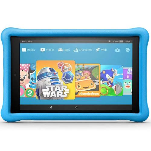 "Amazon - Fire HD 10 Kids Edition - 10.1"" - Tablet - 32GB - Blue"