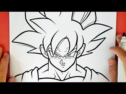 Guuhdesenhos Como Desenhar O Goku Instinto Superior Completo