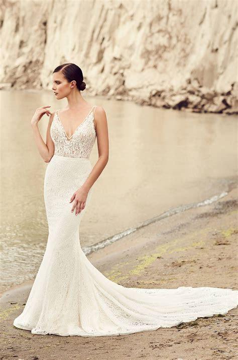 Deep V Neck Wedding Dress   Style #2100   Wedding   Spring