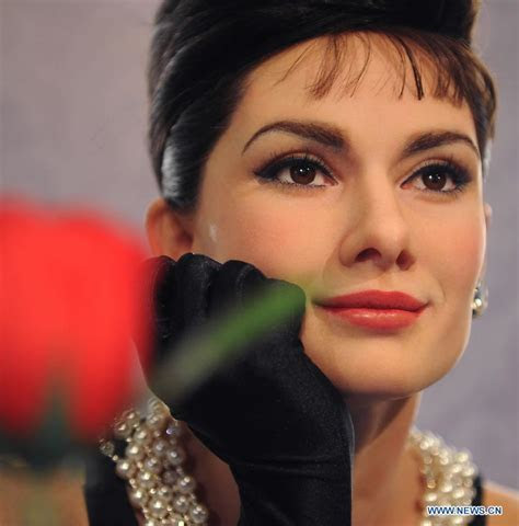 Wax figure of Audrey Hepburn unveiled at Madame Tussauds