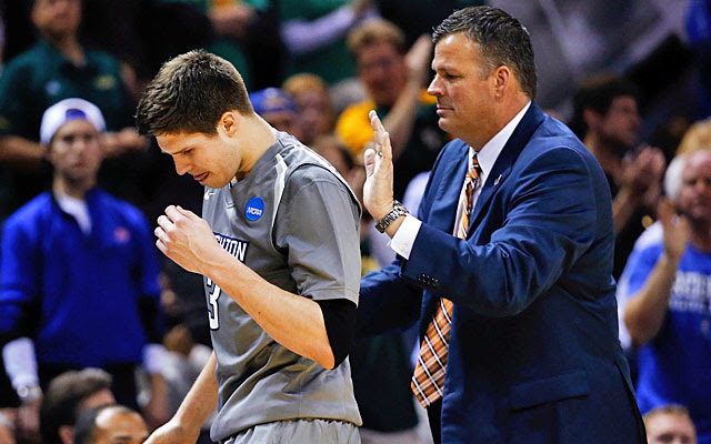 After watching his son's college career end, Greg McDermott made time to ask after a colleague. (USATSI)