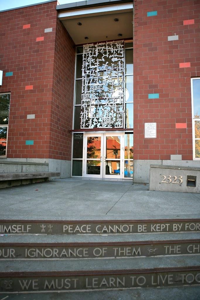 Entrance Garfield Community Center