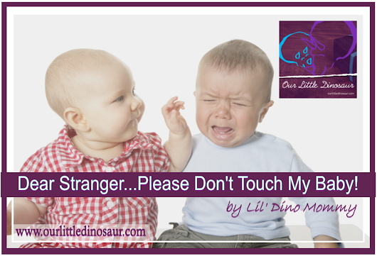 Dear Stranger...Please Don't Touch My Baby! | Our Little Dinosaur