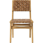 Ceylon Woven and Wood Dining Chair Brown And Natural - Opalhouse , Brown/Natural