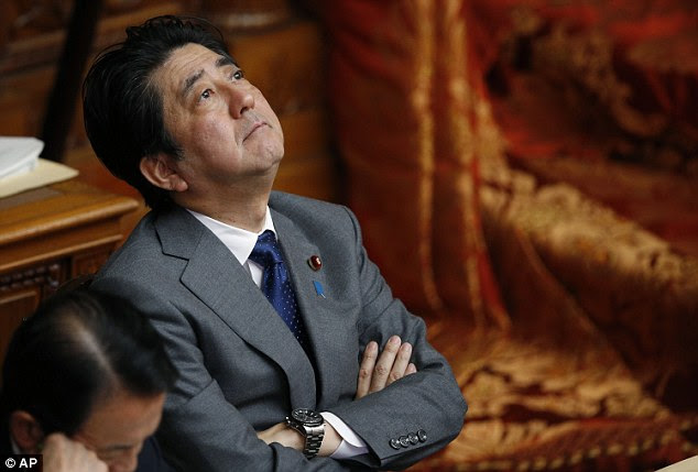 Shinzo Abe described the ISIS threat as an 'extremely despicable act' and vowed to work with the Jordanian government to secure the journalist's release