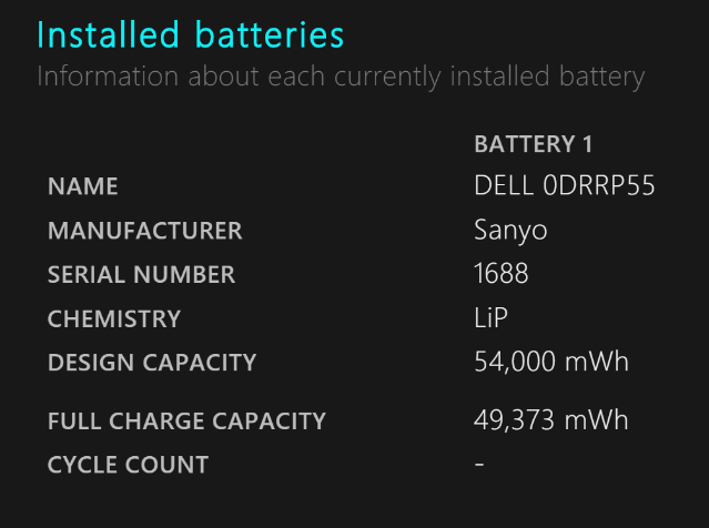 Battery-report-