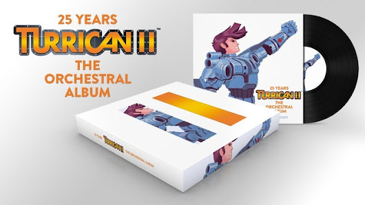 Update 13: Progress, important concert news · Turrican II Live Orchestra Album by Chris Huelsbeck