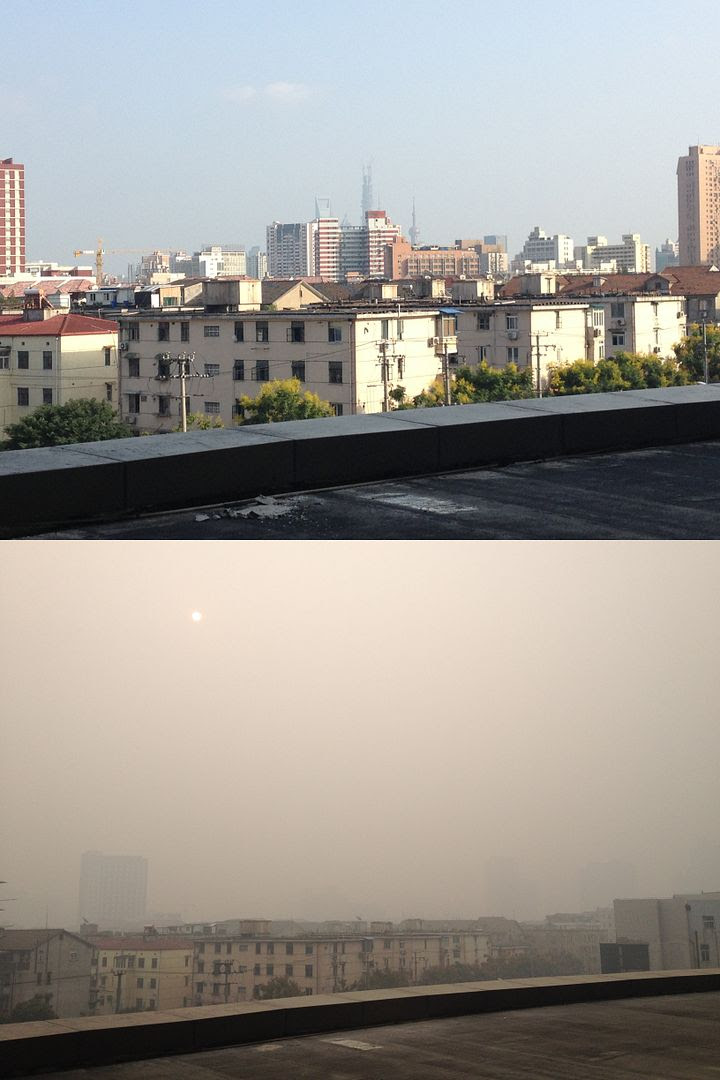 Our View of Shanghai on a Good Day and on a Bad Day photo ShanghaiPollution_zps0156264e.jpg