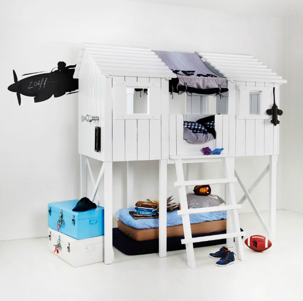10 Fabulous Boys' House Beds 3