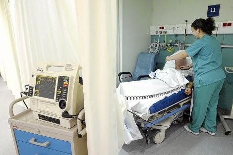 Servicio de urgencias del Hospital Virgen de la Concha de Zamora. | El Mundo