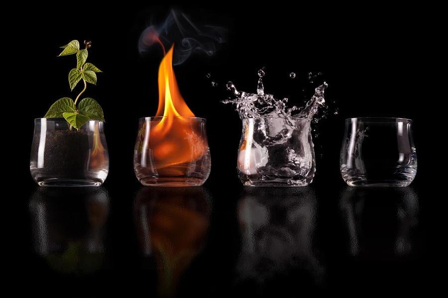 earth fire water