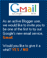 Gmail offer on blogger