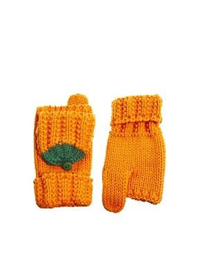 Image 1 ofASOS Pumpkin Convertor Mittens