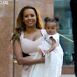 There's nothing Scary about her... Mel B steps out with adorable daughter Madison
