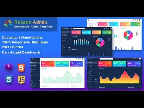 Rukada Dashboard Admin Template Free Download