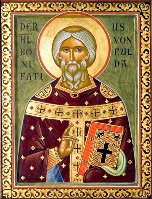 img ST. BONIFACE, Archbishop of Mainz, Apostle of Germany