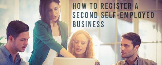 How to register a second self-employed business
