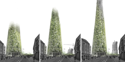This Organic Skyscraper Is Designed To Literally Grow As Its Residents Recycle