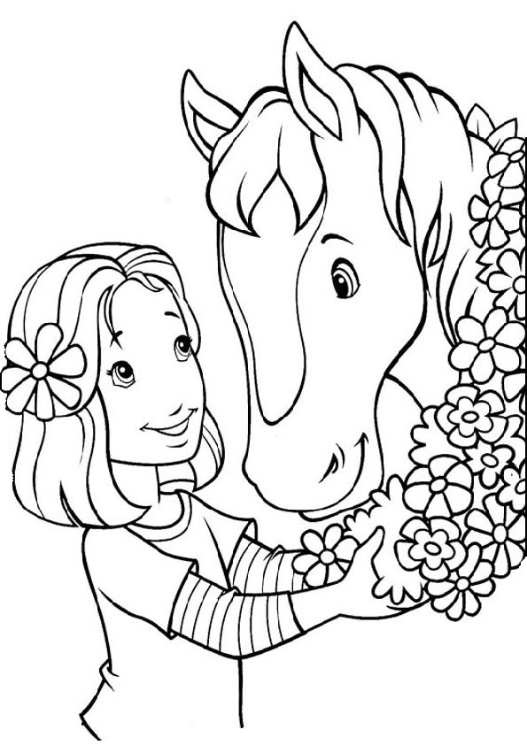 Pferde 18 Ausmalbilder Kostenlos