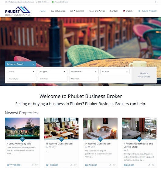 Phuket Business Broker - Phuket Web Media
