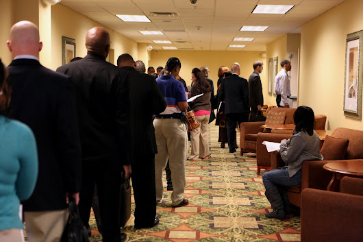Initial jobless claims jumped last week to near 350,000