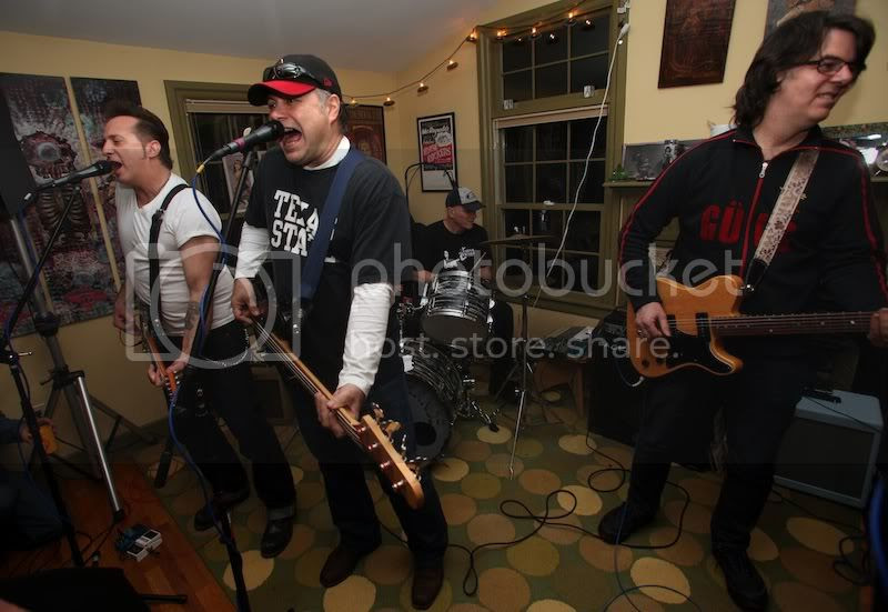 Del-Lords house concert