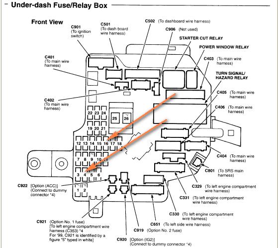 2011 Acura Mdx Fuse Box Diagram