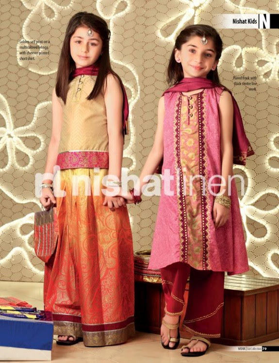 Nishat-Linen-New-Latest-Eid-Suits-Kids-Wear-Dresses-Collection-2013-9